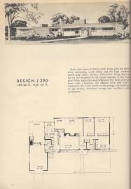 All In The Family House Floor Plan Vintage House Plans 1954 Floor To Ceiling Fireplace Three Way