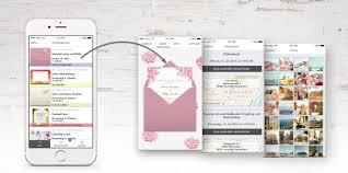 wedding invitations app wedding time line eventkingdom magazine