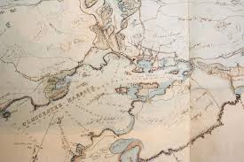 George Mason Map Fitz Henry Lane Historical Materials