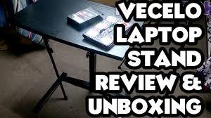 vecelo mobile laptop desk cart unboxing u0026 review youtube