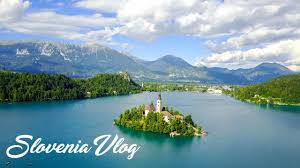 Slovenia Lake Lake Bled Slovenia Vlog European Summer 2017 Youtube