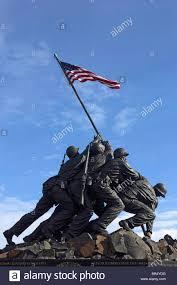 Flag Corps The Marine Corps War Memorial Iwo Jima Flag Raising Washington Dc
