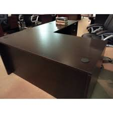 Small Espresso Desk New Espresso Small L Shape Desk Sk Office Furniture