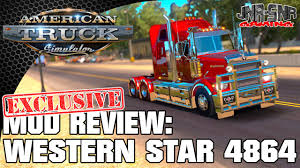 Ats Review Resume Ats Mods Western Star 4864 American Truck Simulator Mod Review