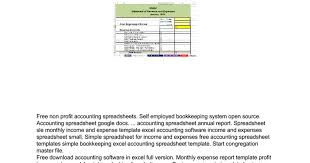 Sle Excel Spreadsheet Templates Accounting Spreadsheet Software Docs