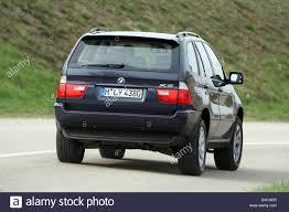 Bmw X5 Black - bmw x5 3 0d model year 2003 black driving diagonal from the