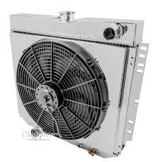 electric radiator fans and shrouds 1963 1969 ford fairlane aluminum radiator shroud fan