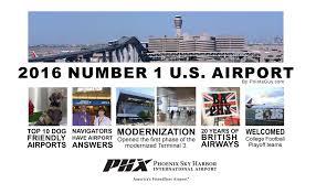 Phoenix Airport Terminal Map by Phoenix Sky Harbor International Airport Google