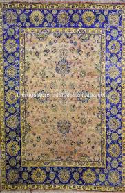 Indian Hand Woven Rugs Indian Rugs Hand Woven Mughal Agra Design Sari Silk Traditional