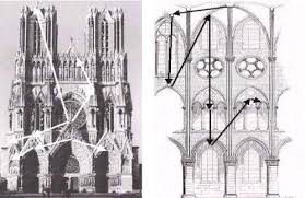 reims cathedral floor plan architects of the complexity
