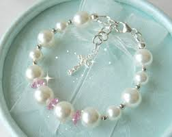 baby jewelry baptism baby christening gift bracelet for baptism blessing or
