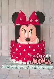 Red Minnie Mouse Cake Decorations Best 25 Minnie Cake Ideas On Pinterest Mini Mouse Cake Minnie