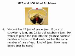 unit 2 lesson 7 lcm and gcf word problems this lesson provides