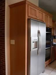 do you have a refrigerator cabinet for a non built in fridge 60