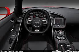 Audi R8 V12 - breaking the new audi r8 is revealed quattroworld