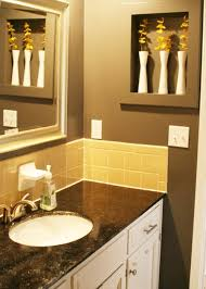 yellow bathroom ideas yellow bathroom tile ideas and pictures
