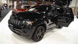 black jeep 2014 2015 all black jeep grand cherokee stealth package youtube