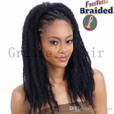 crochet marley braids hairstyles 18inch crochet braids hair 100grams marley braid havana mambo