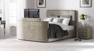 Contemporary Bed Frames Uk Tv Bed Beds With Tv Television Beds Uk