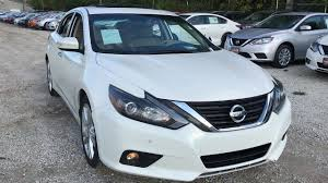 altima nissan 2016 used one owner 2016 nissan altima 3 5 sl chicago il western