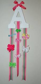 bow holders diy hair bow organizer hair accessories craft and