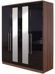 Ottawa Bedroom Set With Mirror Gfw The Furniture Warehouse Modular 4 Door Robe Mirrors