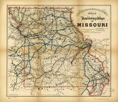 missouri map raymond d shasteen genealogy historical maps missouri