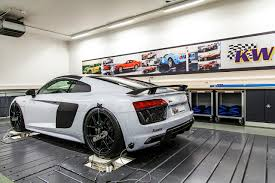 future audi r8 kw expands range of innovative height adjustable spring has kits
