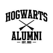 hogwarts alumni bumper sticker harry potter vinyl decal vinyl sticker yeti cup decal harry