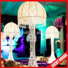 new design lace wedding decoration lighted pillar buy wedding