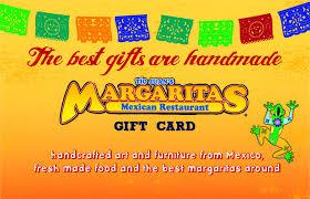 restaurant gift card gift cards margaritas mexican restaurant