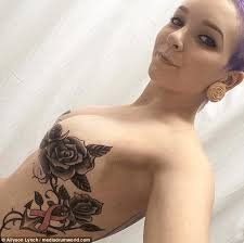 cancer survivor tattoos after mastectomy daily mail online