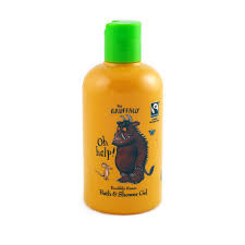 the gruffalo knobbly knees bath shower gel fairtrade 250ml click to enlarge