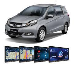 honda car 7 seater honda adds navigation system to 7 seater mobilio motoring
