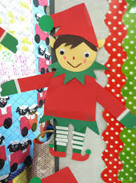 life in first grade elf craft freebie
