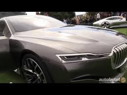 bmw future luxury concept bmw s vision future luxury concept car walkaround from pebble