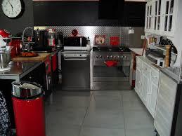 Peinture Rouge Cuisine by Peinture Cuisine Rouge Gris Belle Cuisine Nous A Fait à L U0027aise