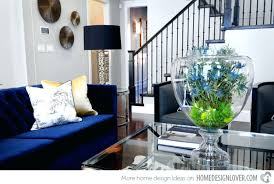 Blue Accent Chairs For Living Room Navy Blue Accent Chair Monplancul Info