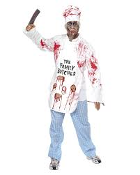 chef costume bloody chef costume horror cooking costume for the