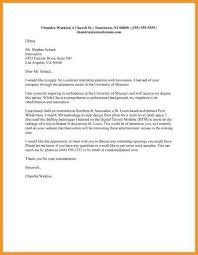 cover letter examples internships good internship cover letter