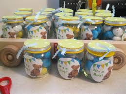 jar baby shower ideas food jar baby shower crafts easter candy is great for showers