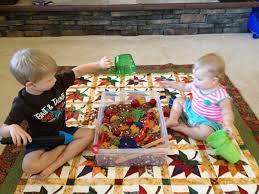 thanksgiving sensory bin play sensory bins
