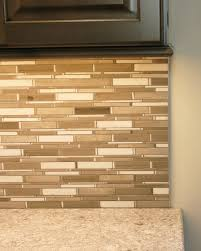 Traditional Backsplashes For Kitchens A Traditional Installation Of A Schluter Strip To Cap Off The End