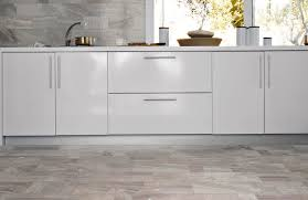 gray tile kitchen floor with white cabinets google search