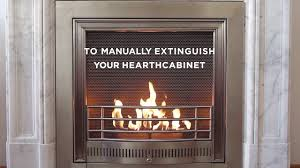 how to use your hearthcabinet ventless fireplace youtube