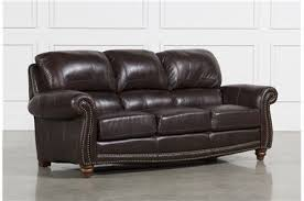 Leather Sofa Loveseat by Leather Sofas Free Assembly With Delivery Living Spaces