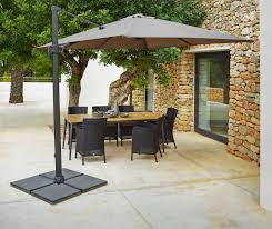 Patio Umbrella Side Table by Offset Sun Umbrella Best Outdoor Patio Umbrella Eva Furniture