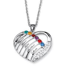custom sted jewelry necklaces with birthstones for best necklace 2018