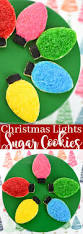 christmas light sugar cookies