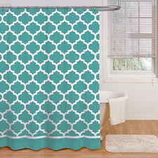 Turquoise Curtains Walmart Terra Shower Curtain Walmart Com